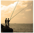 i catch fish with a pole, not a net