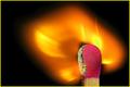flaming macro