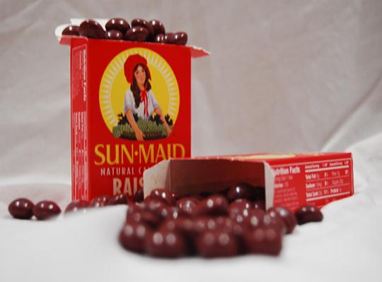 skittle raisins
