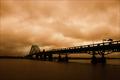 Where the bridge meets the sky