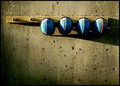 Blue hats