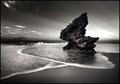 dawn at the rock