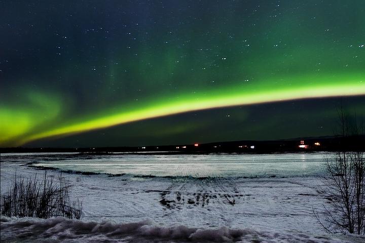 Aurora over Loon Lake