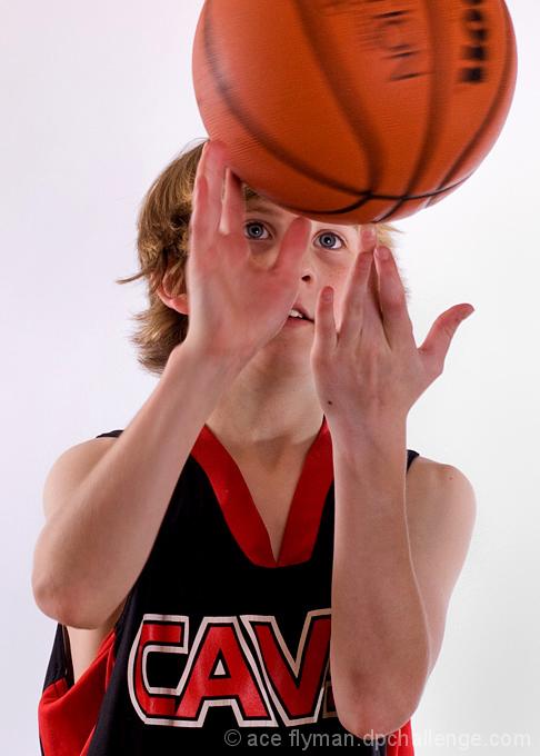 NBA in his Eyes