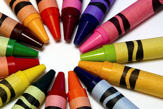 List of Crayola crayon colors