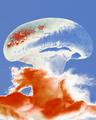 BOOM! - edible mushroom cloud