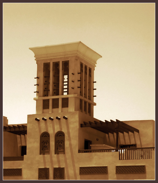 Wind tower old arabic architecture by mqnaufal dpchallenge Wind architecture