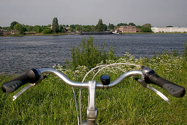 View from my bike