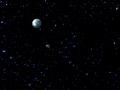 sparkle sky under a pearl moon