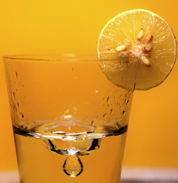 atom bomb of freshness - fresh lime juice