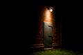 Lonely Metal Door