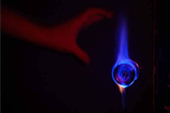 Flaming Handle