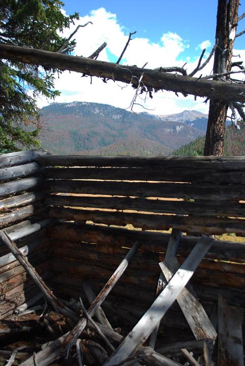'x' mountain cabin