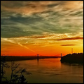 The Narrows Bridge at dusk