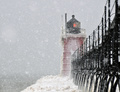 Blizzard At The Lakeshore