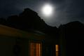 Moonrise over West Butte