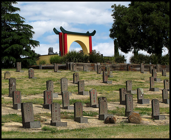 Chinese Goldminers Graveyard For Those Who Never Went