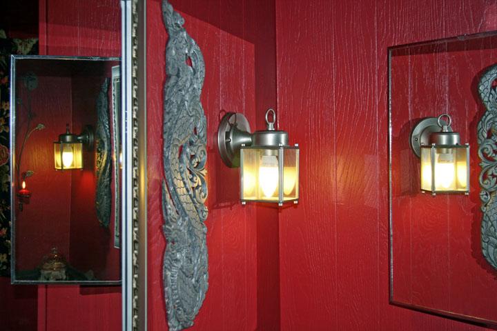 Red Lit Room