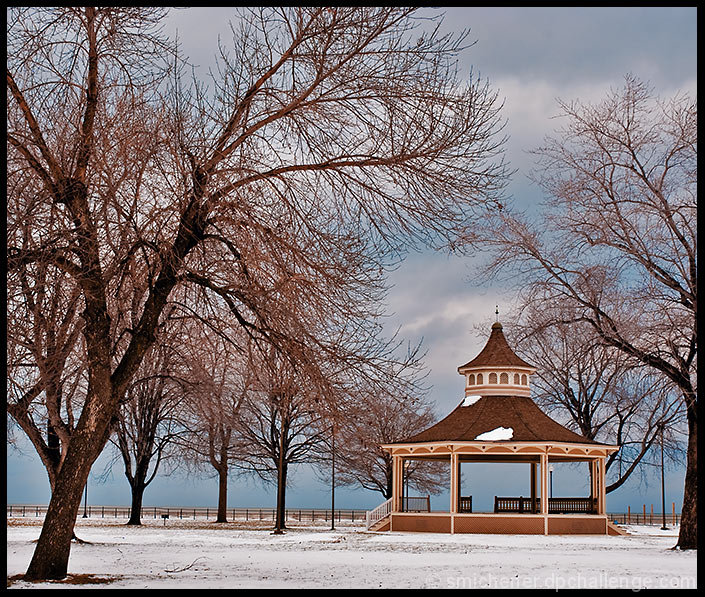 The Band Stand at Charlotte Beach