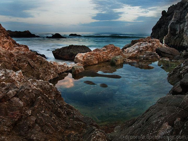 Peeking Rock