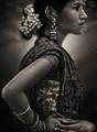 girl with sari