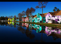 reflective row...
