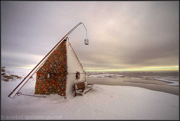 February at the Lighthouse at Verdens Ende