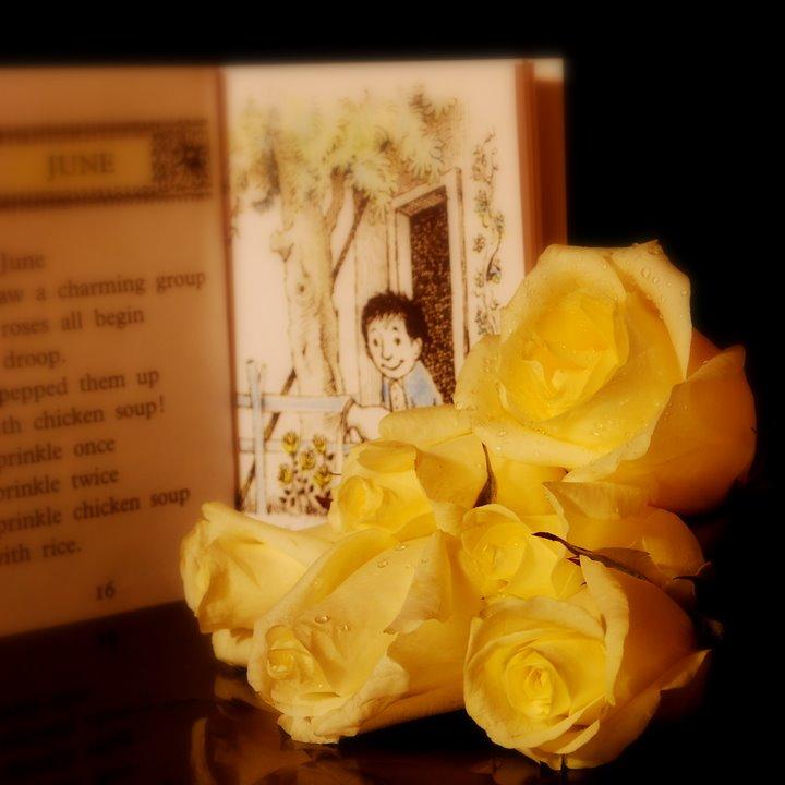 Maurice Sendak's June - Charming Roses
