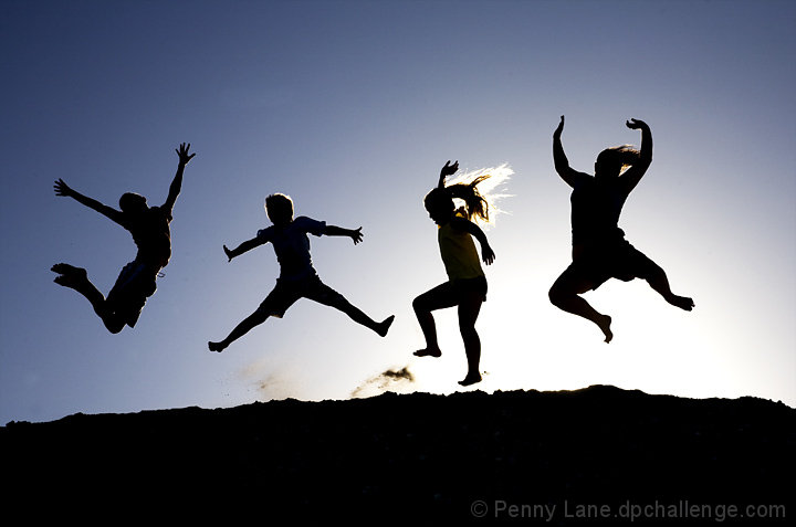 jumping for joy by penny lane dpchallenge
