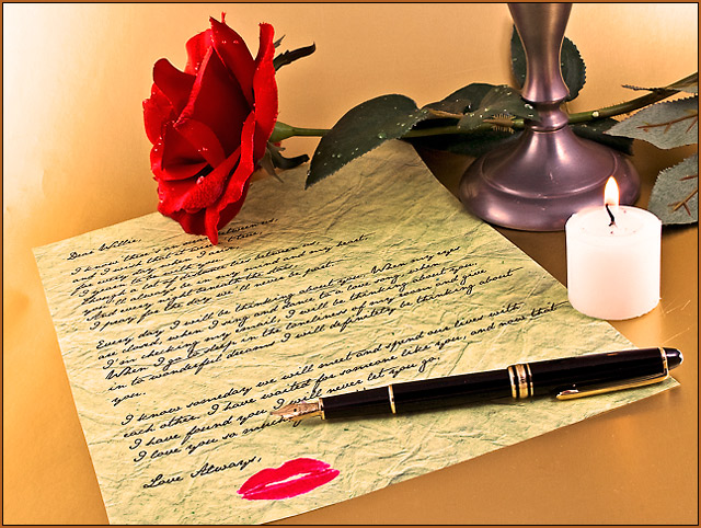 Writing a Love Letter by HeiSch - DPChallenge