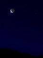Occultation: Venus & Moon