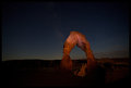 delicate arch at twilight...