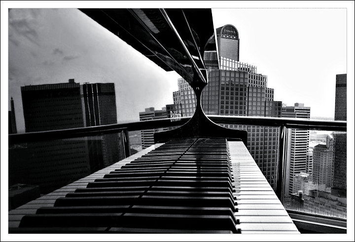 Ivories over downtown