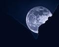 Moonrise over the Garden of the Gods
