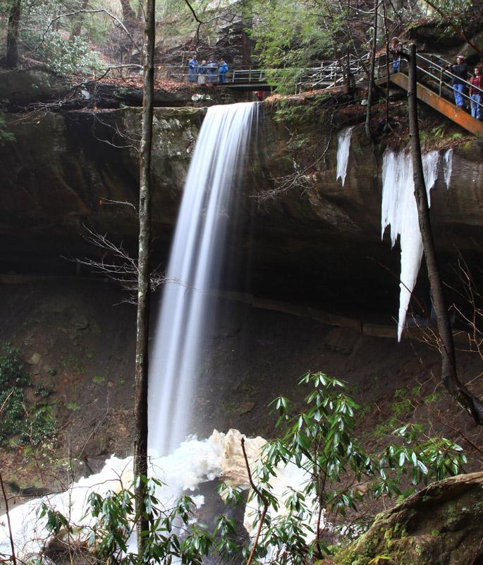 An Ice Trail