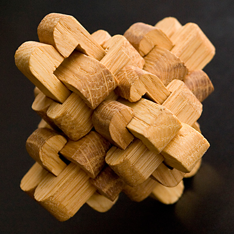 Man made puzzle from nature made wood by kiskat  DPChallenge