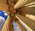 Converging pillars