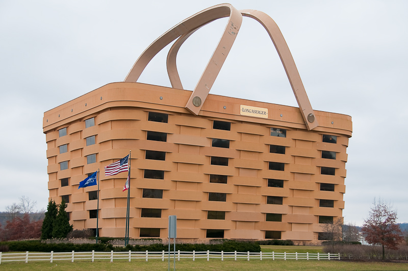 Longaberger Basket Main Office Building By Keith W
