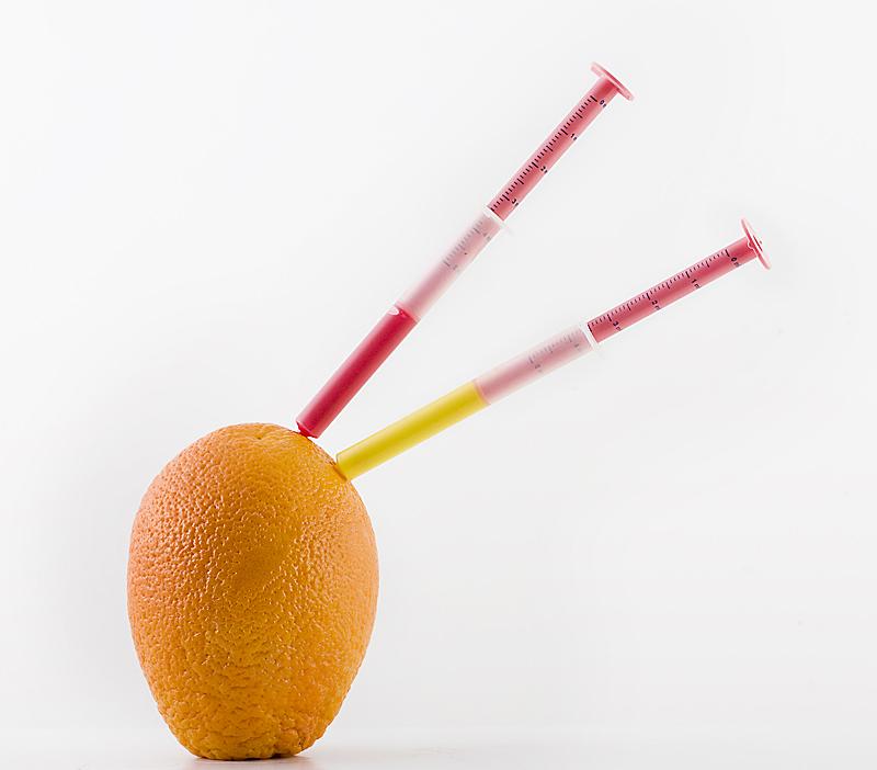 Natural orange..