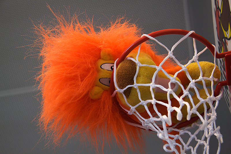 A new kind of basketball