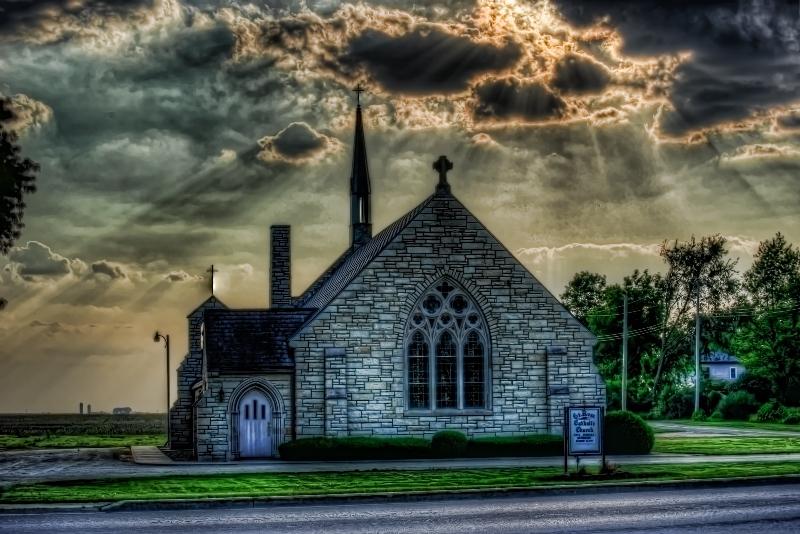 One Church Town