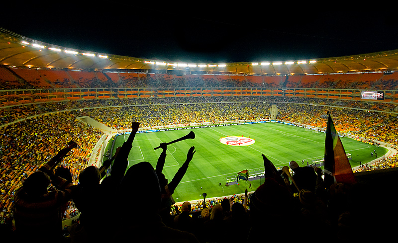 My city is all about the World Cup: Soccer City Stadium, Johannesburg, South Africa