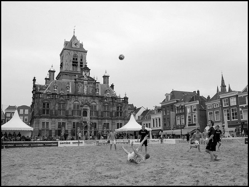 Soccer on Market Square