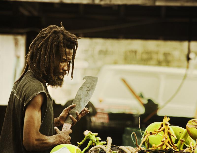 The Coconut Vendor