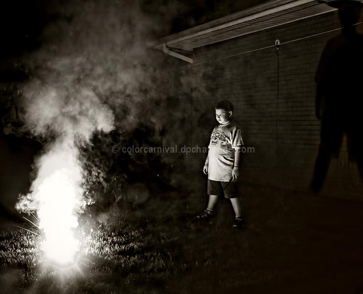 Back Yard Fireworks
