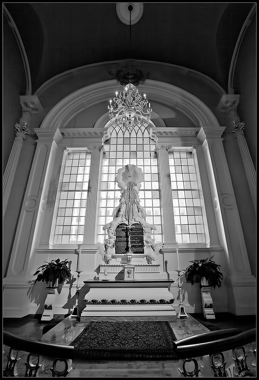 St. Paul's Chapel, NYC - George Washington prayed here