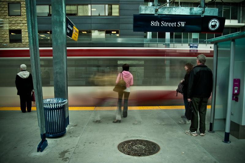 8th Street SW Platform