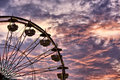 Ferris Wheel and Furious Sky