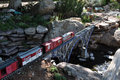 Rio Grande Model Railroad Garden - Crossing the Bridge