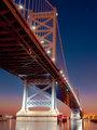 Under the Ben Franklin Bridge